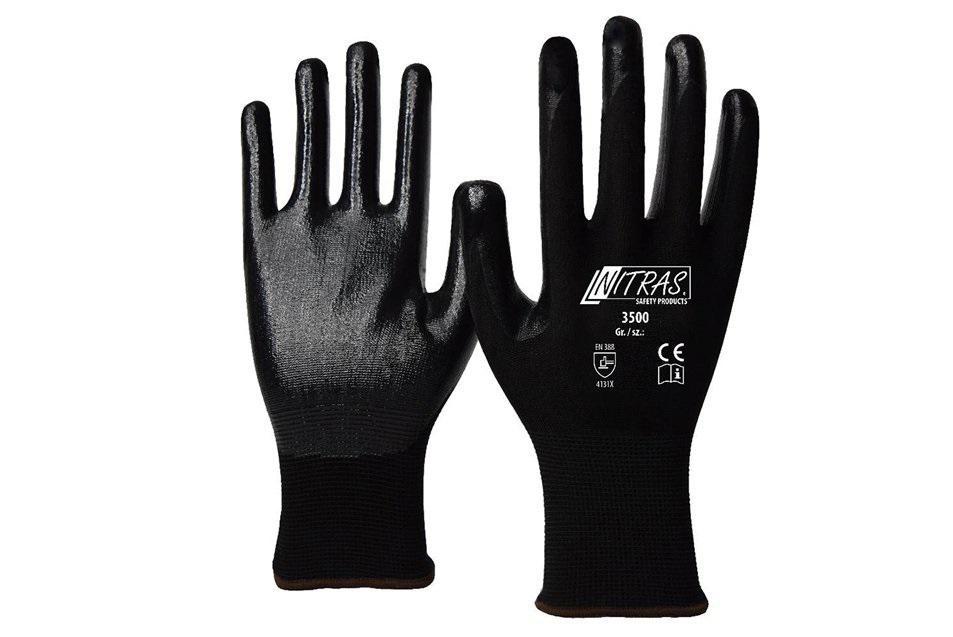 Перчатки защитные Nitras 3500-s10-9