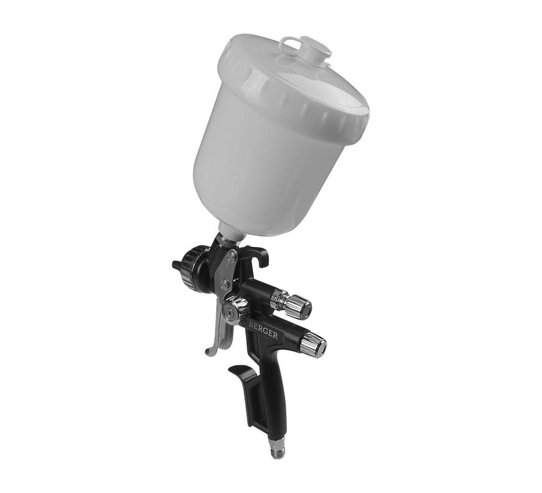 Краскопульт пневматический BERGER «ЗИЛЬБЕР» HVLP 1.3 мм BG1388
