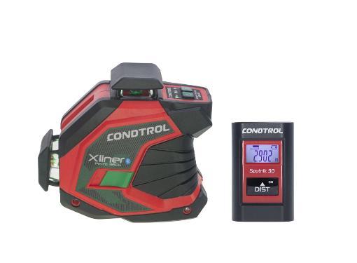 Набор CONDTROL Нивелир лазерный XLiner Pento 360G +Дальномер Sputnik 30