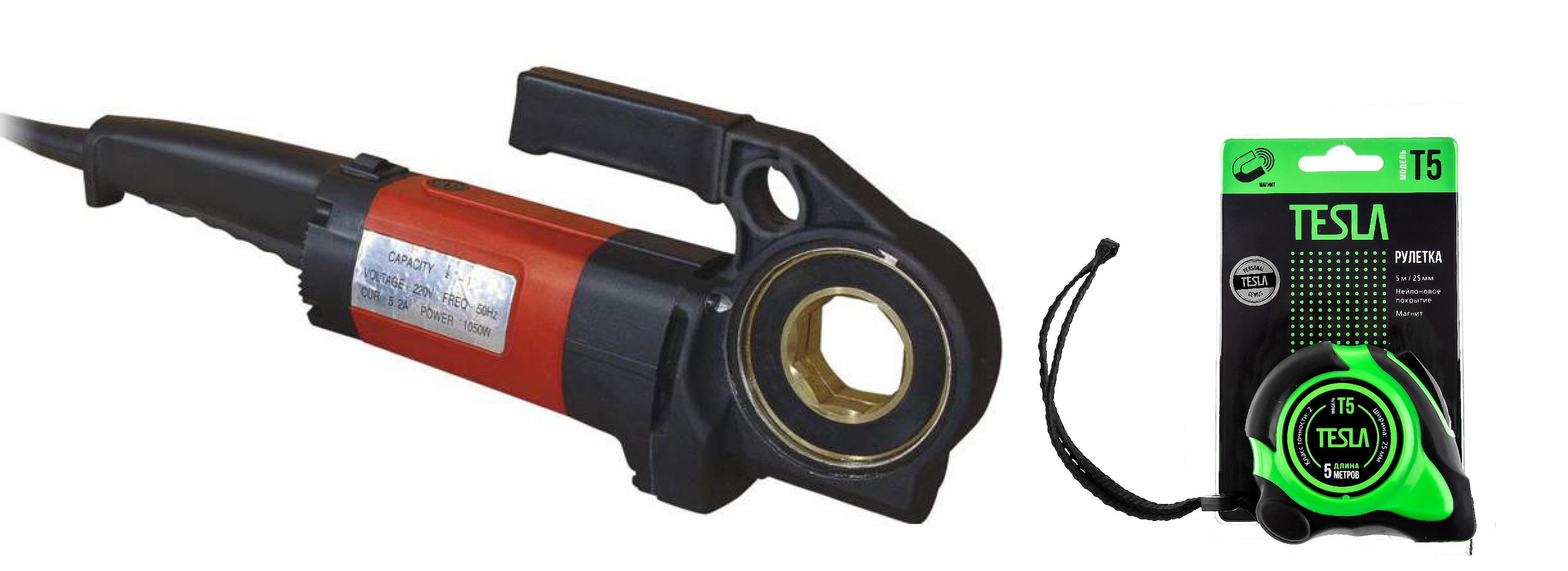 Набор Tor Электрический клупп sq30 +Рулетка 5м х 25мм (t-5)