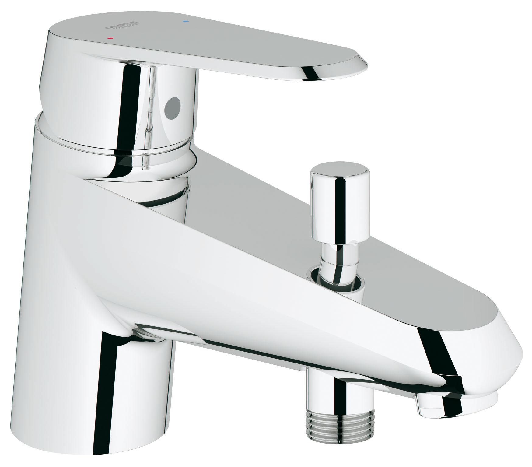 Смеситель для ванны Grohe Eurodisc cosmopolitan 33192002 grohe eurodisc cosmopolitan 19574002 на борт ванны