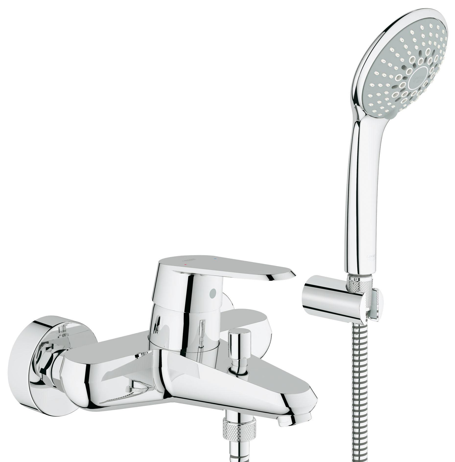 Смеситель для ванны Grohe Eurodisc cosmopolitan 33395002 grohe eurodisc cosmopolitan 19574002 на борт ванны