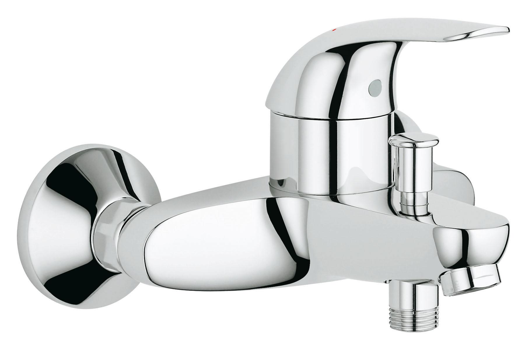 Смеситель для ванны Grohe Euroeco 32743000 набор grohe смеситель euroeco 32734000 смеситель euroeco 32743000 душевой гарнитур new tempesta i 27853000
