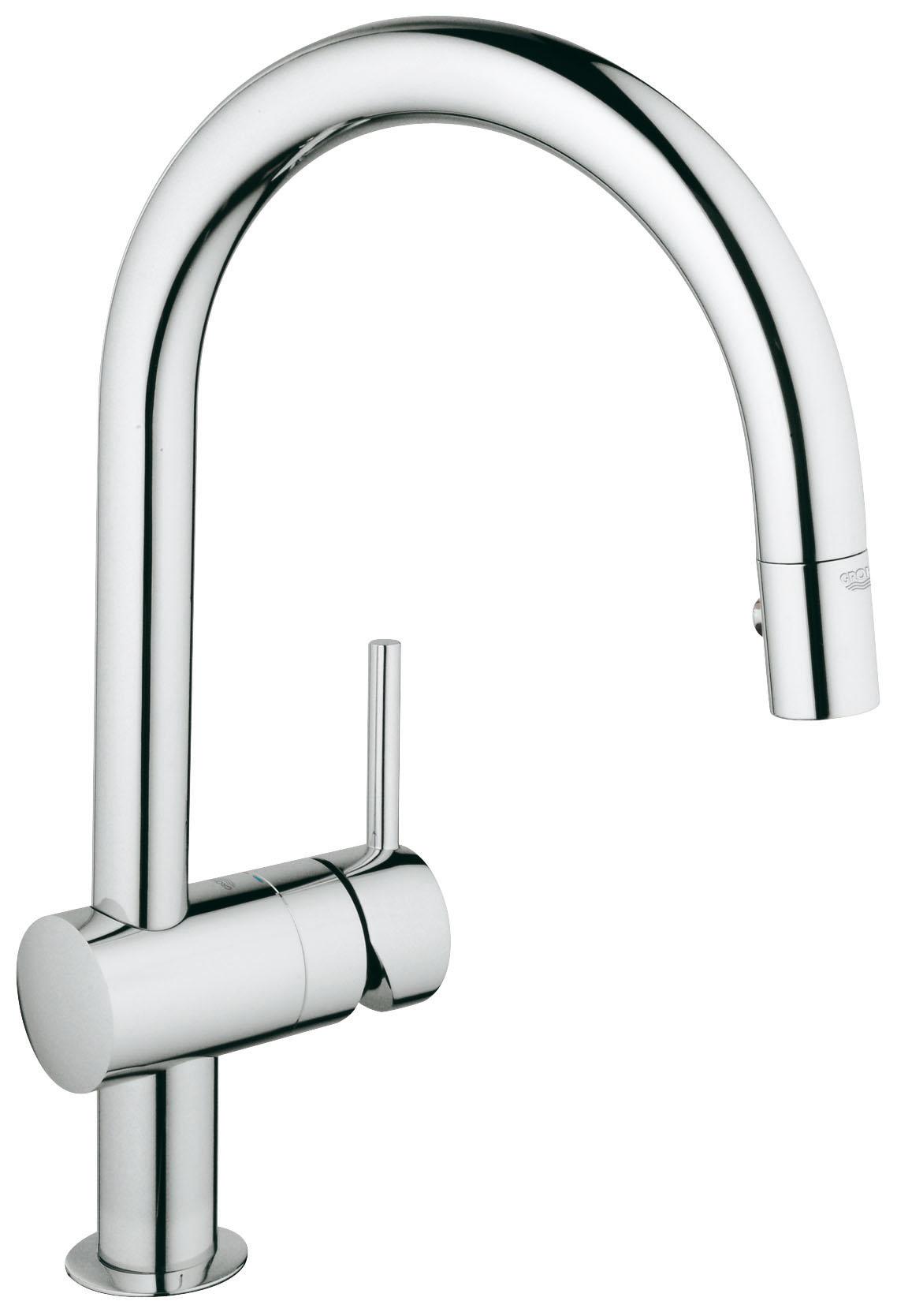 Смеситель для кухни с душем Grohe Minta 32321000 смеситель с душем недорого купить