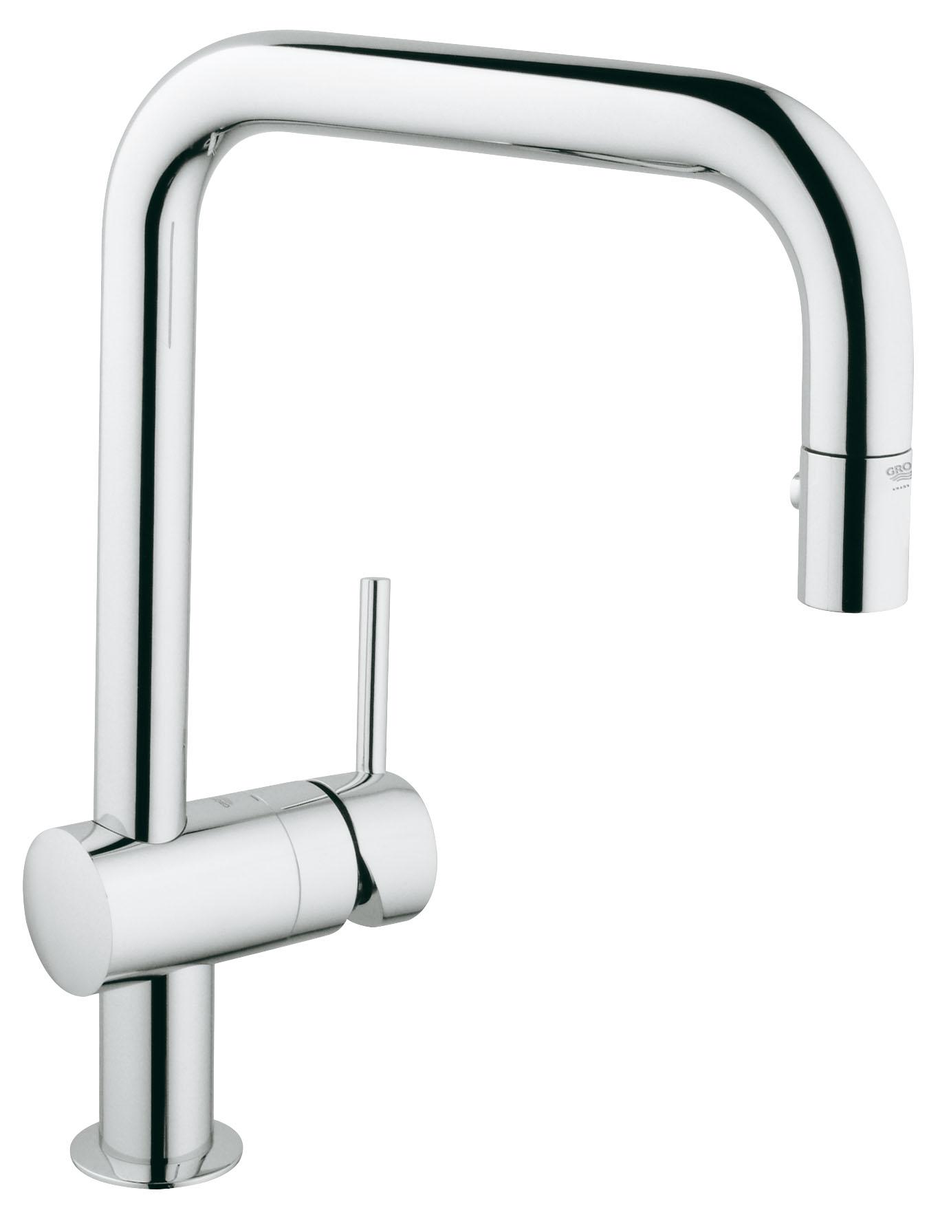 Смеситель для кухни с душем Grohe Minta 32322000 смеситель для кухни smartsant classic new r излив sm180007aa