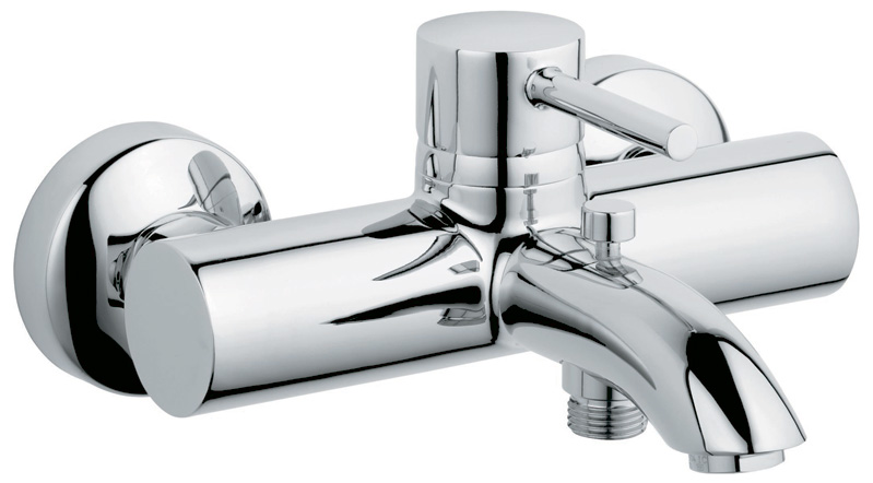 Смеситель для ванны Kludi Bozz 386910576 kludi bozz 389250576 для душа