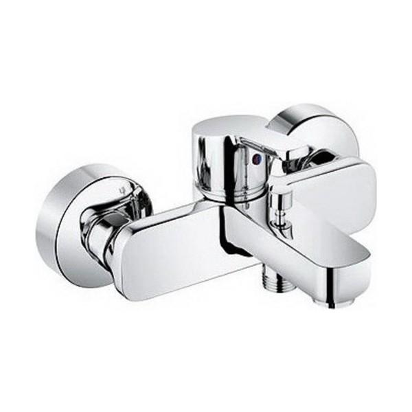 Смеситель настенный Kludi Logo neo 376810575 смеситель для ванны kludi logo neo внутренний механизм 38625
