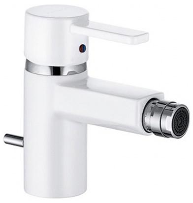 Смеситель белый Kludi Zenta 385309175 смеситель с термостатом белый kludi zenta 351019138
