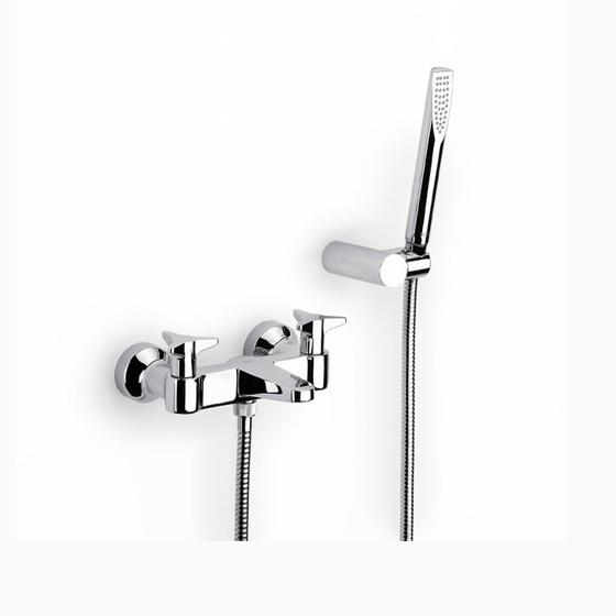Смеситель для ванны Roca Betap 5a0144c00 смеситель для ванны коллекция element 5a2762c00 двухвентильный хром roca рока