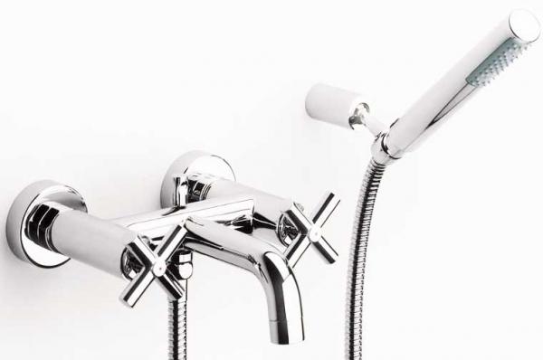 Смеситель для ванной бронзовый настенный Roca Loft 5a0143c00 смеситель для душа коллекция loft 5a2043c00 двухвентильный хром roca рока