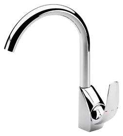 Смеситель высокий Roca M2 5a8468c00 смеситель для ванны коллекция m2 5a0168c00 однорычажный хром roca рока