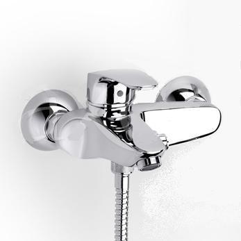 Смеситель для ванны Roca Monodin 5a0207c00 смеситель для раковины roca monodin с донным клапаном 5a3007c00