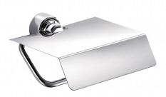 Держатель для туалетной бумаги IndaДержатели для ванной комнаты<br>Назначение: для туалетной бумаги, Цвет покрытия: хром, Материал: металл, Способ крепления: на стену, Высота: 120, Ширина: 160, Глубина: 110<br>
