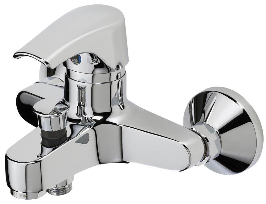Смеситель для ванной однорычажный настенный Oras Saga 1940y смеситель для ванны oras saga 3940y