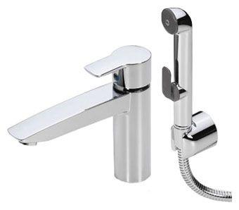 Смеситель для раковины с гигиеническим душем Oras Cubista 2806 термостат для ванны oras cubista 2875u