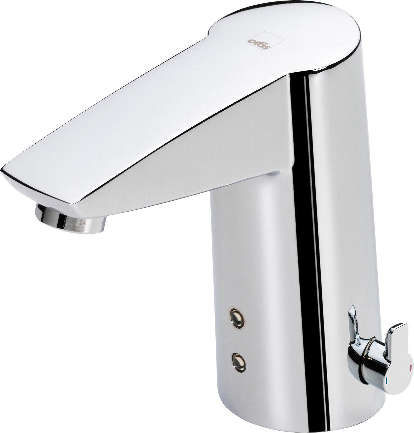 Смеситель сенсорный для раковины Oras Cubista 2814f термостат для ванны oras cubista 2875u