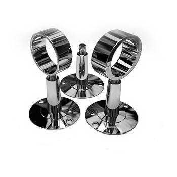 Крепёж ДВИН для полотенцесушителя, с кольцом, 3/4 держатель для полотенцесушителя телескопический раъемный tera 3 4 d 28 мм