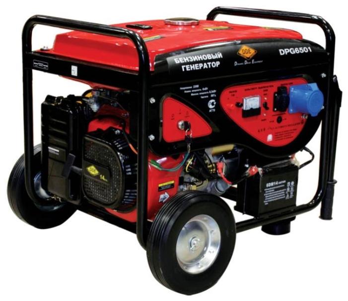 Бензиновый генератор Dde Dpg6501 бензиновый генератор dde dpg5501e