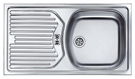 Купить со скидкой Мойка кухонная из нержавеющей стали Franke Etn 614 101.0060.162