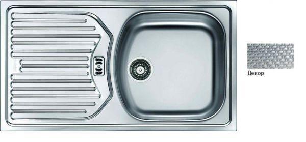 Мойка кухонная из нержавеющей стали Franke Etl 614 101.0060.167 мойка кухонная franke maris mrg 610 58 сахара 114 0060 679