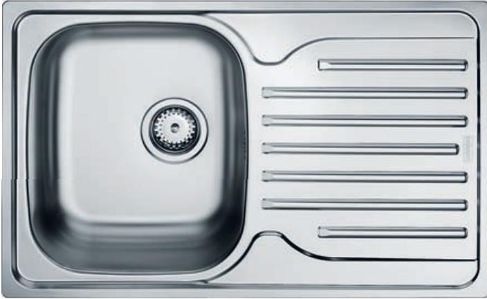 Мойка кухонная из нержавеющей стали Franke Pxl 611-78 franke pxl 611 60 нерж сталь зеркальная