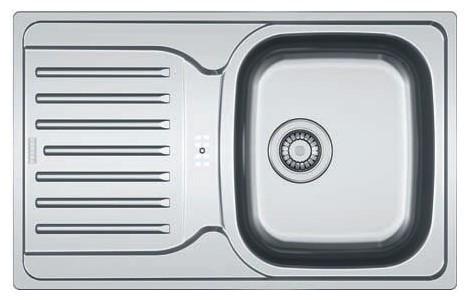 Мойка кухонная из нержавеющей стали Franke Pxl 614-78 franke pxl 611 60 нерж сталь зеркальная
