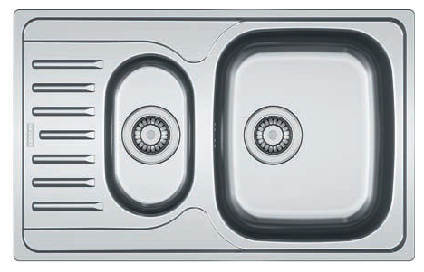 Мойка кухонная врезная Franke Pxn 651-78 мойка кухонная franke maris mrg 610 58 сахара 114 0060 679