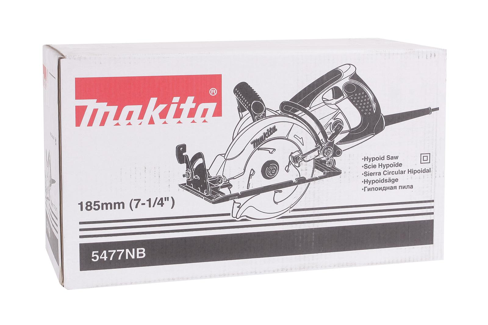 Пила циркулярная Makita 5477nb