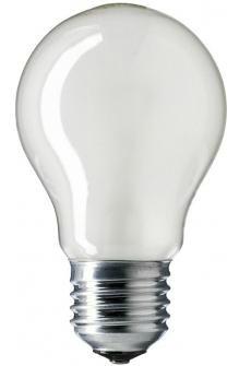 Лампа накаливания Philips A55 60w e27 fr лампы philips