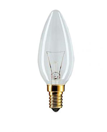 Лампа накаливания Philips B35  25w e14 cl лампа накаливания philips p45 60w e14 cl