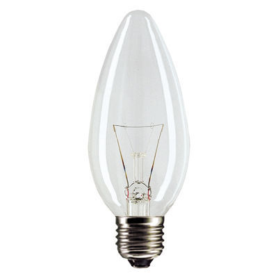 Лампа накаливания Philips B35  40w e27 cl а зет ооо лампа накаливания philips 40w e27 стандарт прозрачная
