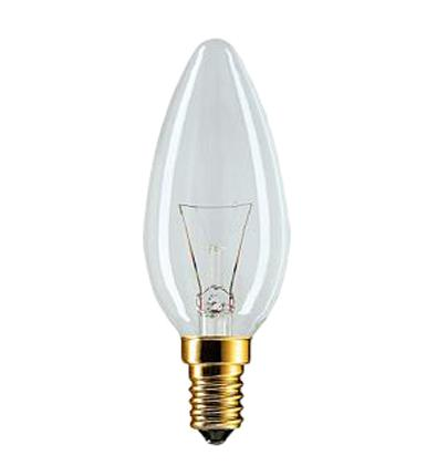 Лампа накаливания Philips B35 60w e14 cl лампа накаливания philips p45 60w e14 cl