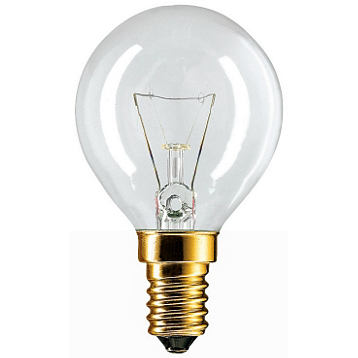 Лампа накаливания Philips P45  40w e14 cl лампа накаливания philips p45 60w e14 cl