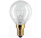 Лампа накаливания PHILIPS P45  40W E14 CL