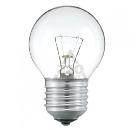 Лампа накаливания PHILIPS P45  60W E27 CL