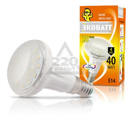 Лампа светодиодная ECOWATT R50 230В 4(40)W 2700K E14