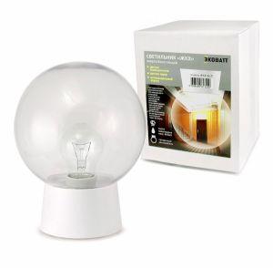 Светильник Ecowatt ЖКХ-04 прозрачный лампочка ecowatt шарик нитевидный loft g125 e27 75w 2000k warm white