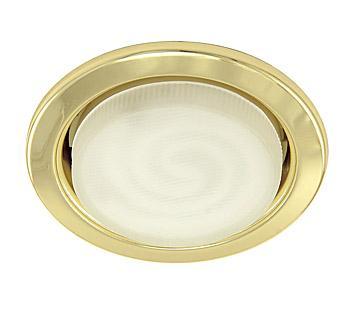 Светильник встраиваемый АКЦЕНТ 320 золото золото