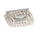 Светильник встраиваемый АКЦЕНТ Crystal 530  хром/прозрачный