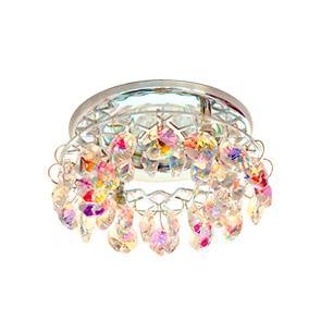 Картинка для Светильник встраиваемый АКЦЕНТ Crystal 540 хром/цветной