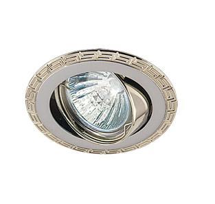 Светильник встраиваемый АКЦЕНТ Versace 16159xq жемчужный хром/хром cron cn4008 хром