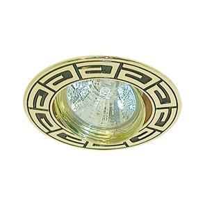 Светильник встраиваемый АКЦЕНТ Versace wl-650 золото/чёрный светильник встраиваемый акцент versace wl 650 золото чёрный