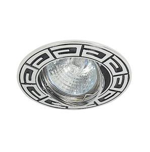 Светильник встраиваемый АКЦЕНТ Versace wl-650 хром/чёрный светильник встраиваемый акцент wl 670 хром