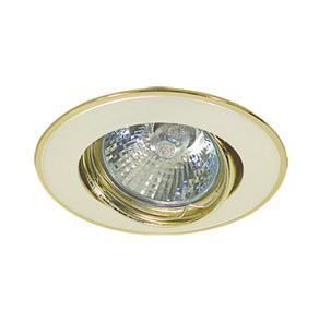 Светильник встраиваемый АКЦЕНТ 103ja жемчужное серебро/золото светильник встраиваемый акцент 16001ba жемчужное золото золото