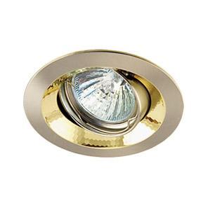 Светильник встраиваемый АКЦЕНТ 11159ga матовый никель/золото edeny e1505a никель матовый