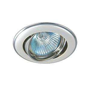 Светильник встраиваемый АКЦЕНТ 11171jq жемчужное серебро/хром