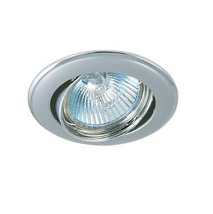 Светильник встраиваемый АКЦЕНТ 11171xq жемчужный хром/хром cron cn4008 хром