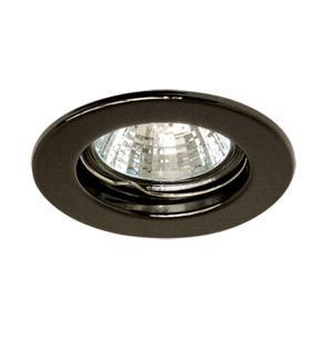 Светильник встраиваемый АКЦЕНТ 114a чёрный никель