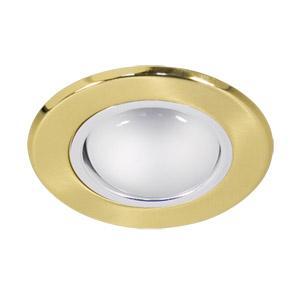 Светильник встраиваемый АКЦЕНТ 1701-7 матовое золото