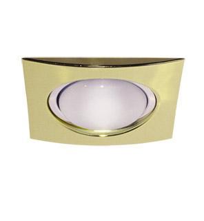 Светильник встраиваемый АКЦЕНТ 1701-8 золото светильник встраиваемый акцент 113aa1 жемчужное серебро золото